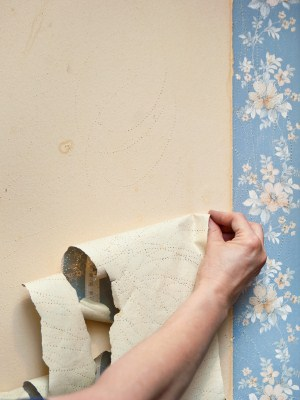 Wallpaper removal by Elite Finisher Inc..