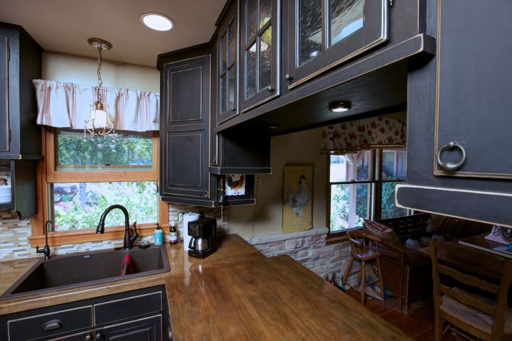 Professionally Cabinets Kitchen Painted - Scenic Drives