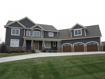 newer construction home in Lake Elmo